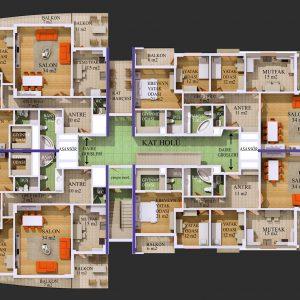 Gulf Kat Planı
